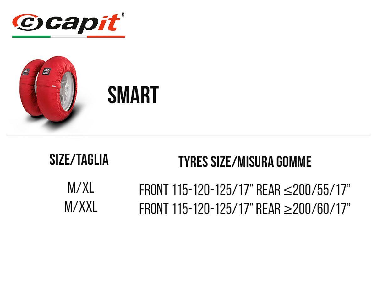 CAPIT SMART SPINA TYRE WARMERS MOTORRAD PAAR