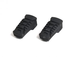 PAIR OF RUBBER FOOTREST...