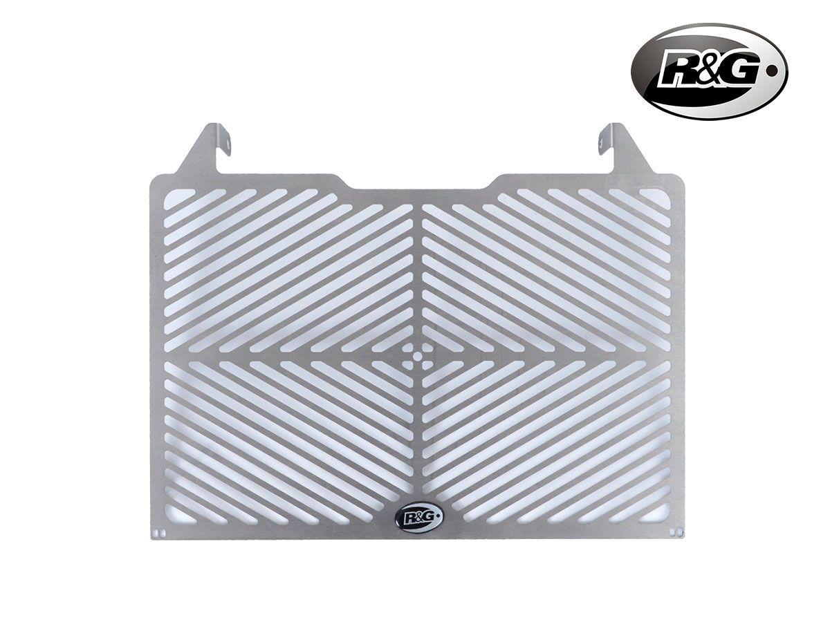 GRIGLIA PROTEZIONE RADIATORE ACCIAIO INOX R&G BMW S1000RR 19-20