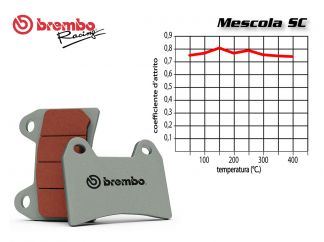 BREMBO FRONT BRAKE PADS SET KAWASAKI ZX 9R 900 2002 +