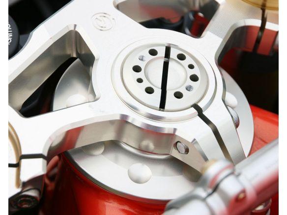 MOTOCORSE ALUMINUM STEERING TOP TRIPLE YOKE FOR OHLINS FORK 56MM MV AGUSTA F4 1000 RR 2011-2019