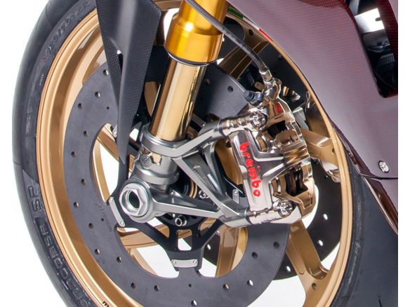 KIT FORCELLA OHLINS CON ATTACCO RADIALE MOTOCORSE SBK MOTOCORSE DUCATI PANIGALE 1299R FINAL EDITION