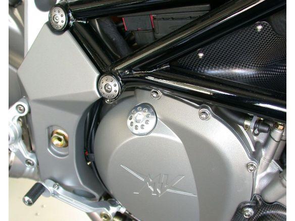 TAPPO INTRODUZIONE OLIO MOTORE ALLUMINIO MOTOCORSE MV AGUSTA F4 1000 S 1+1 2004-06
