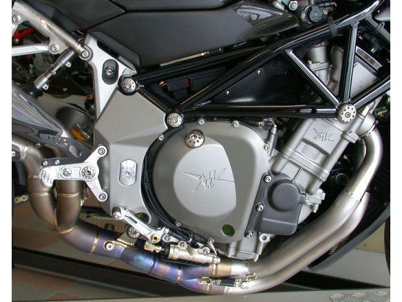 TAPPO INTRODUZIONE OLIO MOTORE TITANIO MOTOCORSE MV AGUSTA F4 1000 S 1+1 2004-06