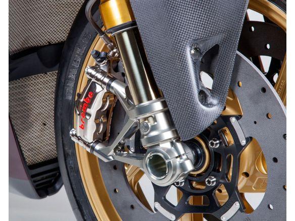 KIT ATTACCHI RADIALI SBK PER FORCELLE OHLINS MOTOCORSE DUCATI PANIGALE 1199R
