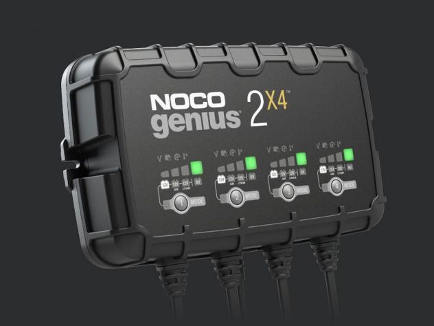 NOCO GENIUS 4 BANK BATTERY CHARGER +...