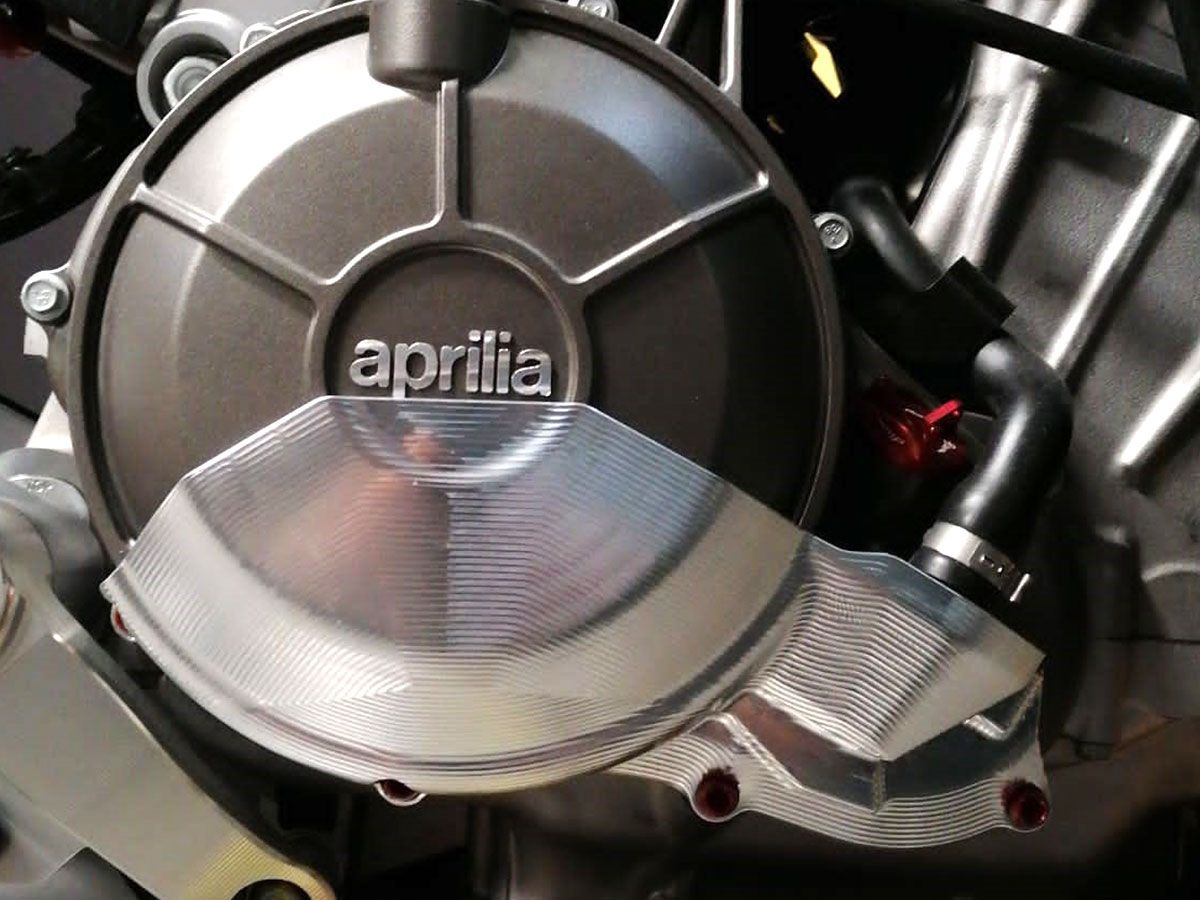 LIGHTECH ENGINE PROTECTION COVER RIGHT SIDE APRILIA RS 660 2020-2021