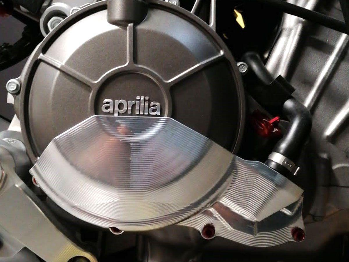 LIGHTECH ENGINE PROTECTION COVER LEFT SIDE APRILIA RS 660 2020-2021