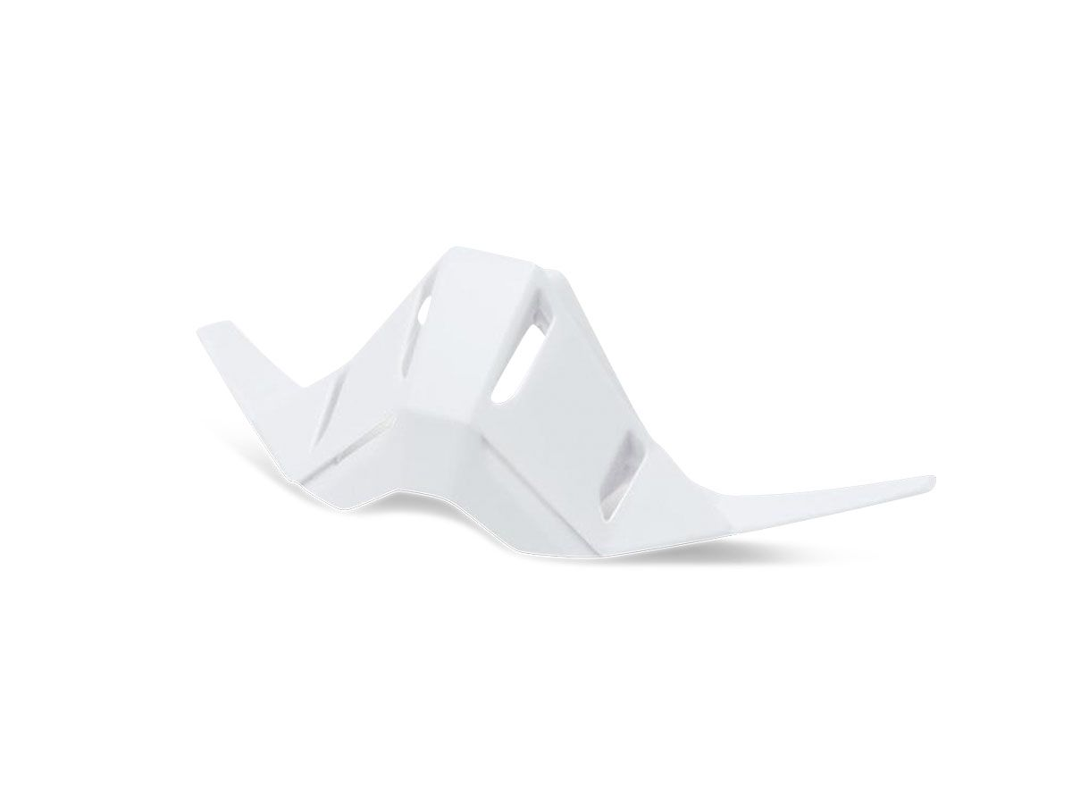 WHITE NOSE GUARD FOR 100% RACECRAFT 1 GOGGLES