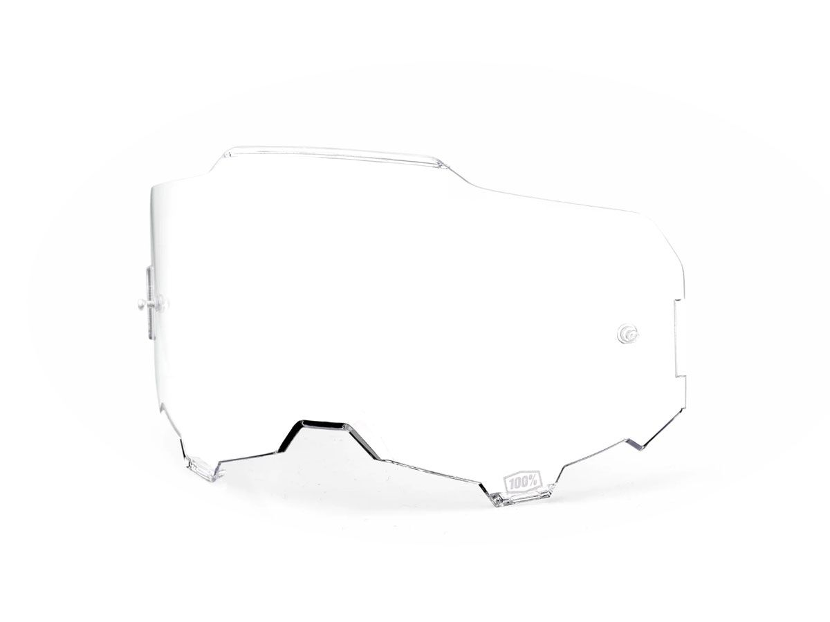 TRANSPARENT REPLACEMENT LENS FOR 100% ARMEGA GOGGLES