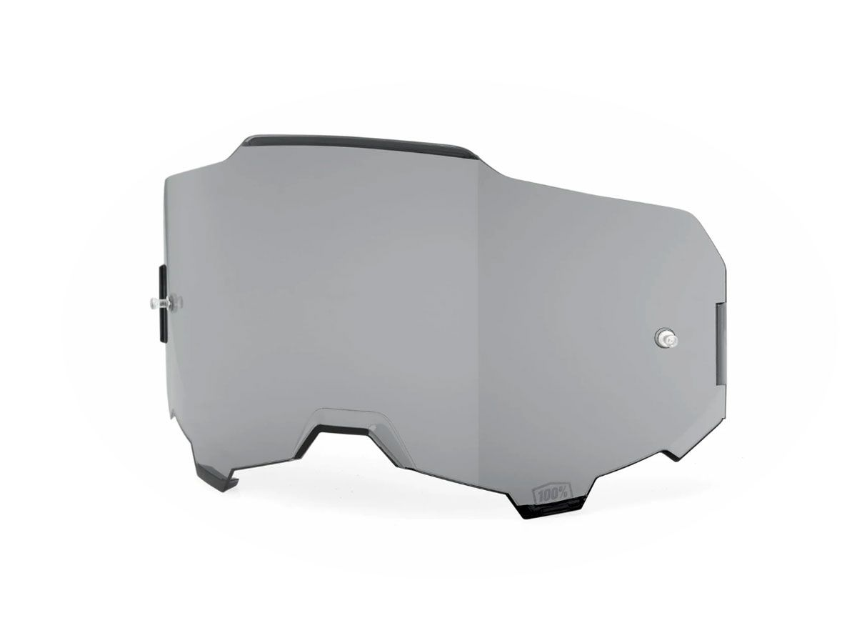 SMOKED REPLACEMENT LENS FOR 100% ARMEGA GOGGLES