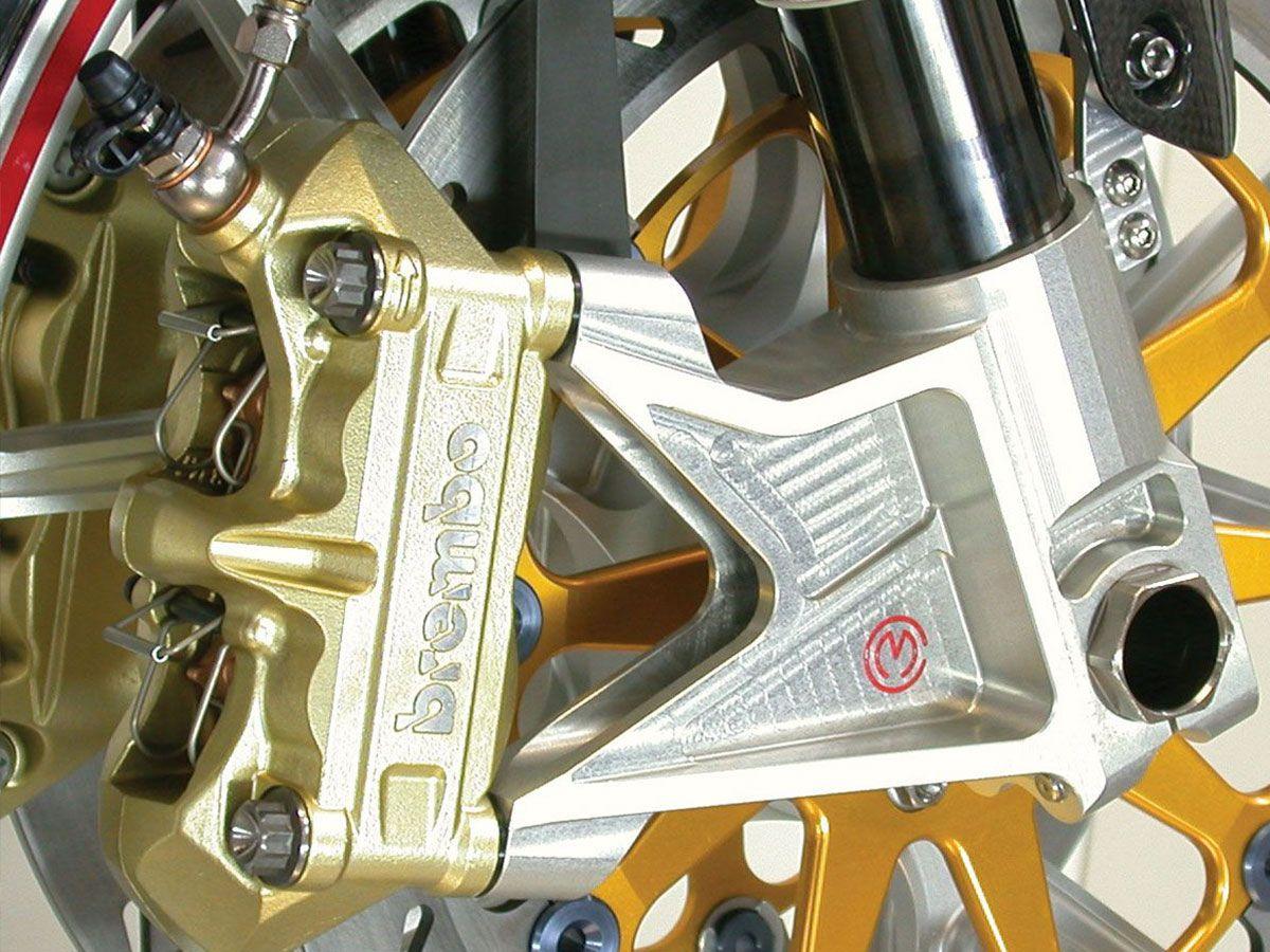 MOTOCORSE RADIAL MOUNT KIT FOR SHOWA BREMBO 100MM DUCATI MULTISTRADA 1000 / 1100