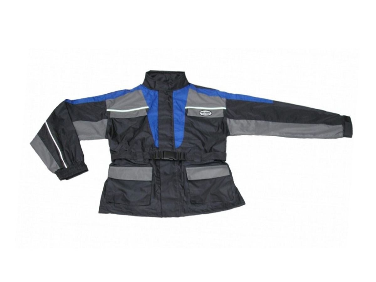 ANTI-WATER SUIT LINED DIVISIBLE BLACK/GREY/BLU