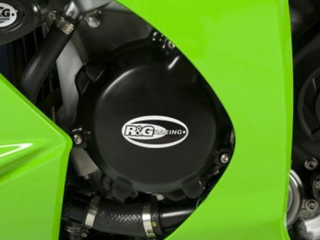 R&G BLACK ENGINE GUARDS KIT 3PZ...