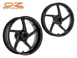 FORGED ALUMINUM WHEELS RIMS PIEGA OZ RACING SUZUKI GSX-R 1000 2009-2016