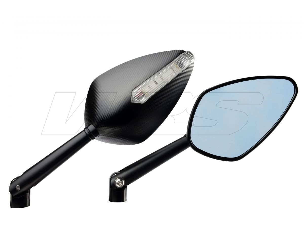 MIRROR ACCOSSATO WITH INDICATOR (NOT APPROVED) DUCATI MONSTER 1100/ 1100 EVO 2009