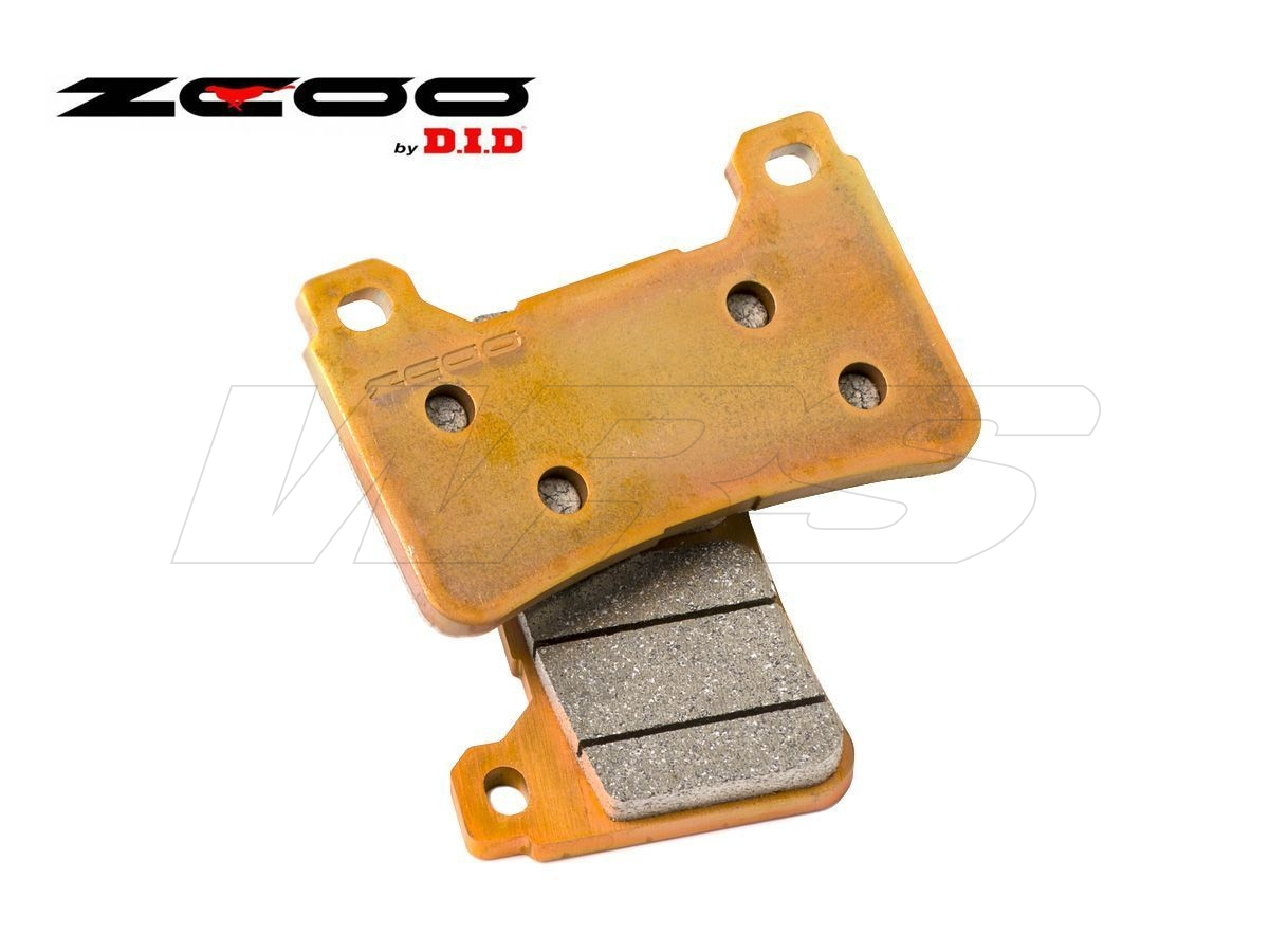 FRONT SET BRAKE PADS ZCOO B003EXC DUCATI MONSTER S4 R / RS Testastretta 2007-