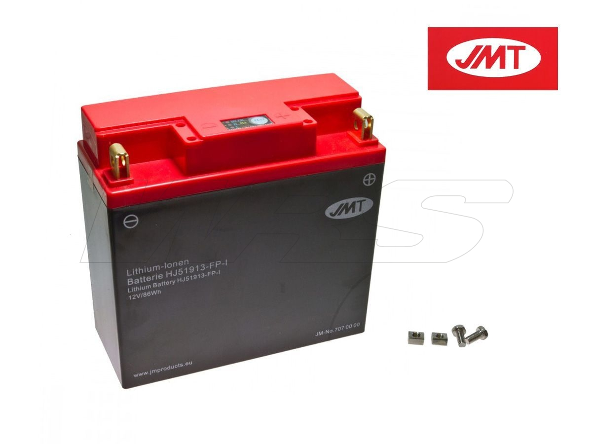 LITHIUM BATTERY JMT BMW R 1200 RT 90 JAHRE ABS K26/R12T 13-14