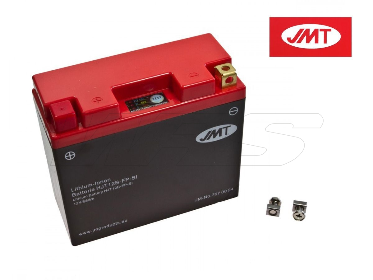 LITHIUM BATTERY JMT DUCATI SUPERSPORT 1000 SS CARENATA V500AA 03