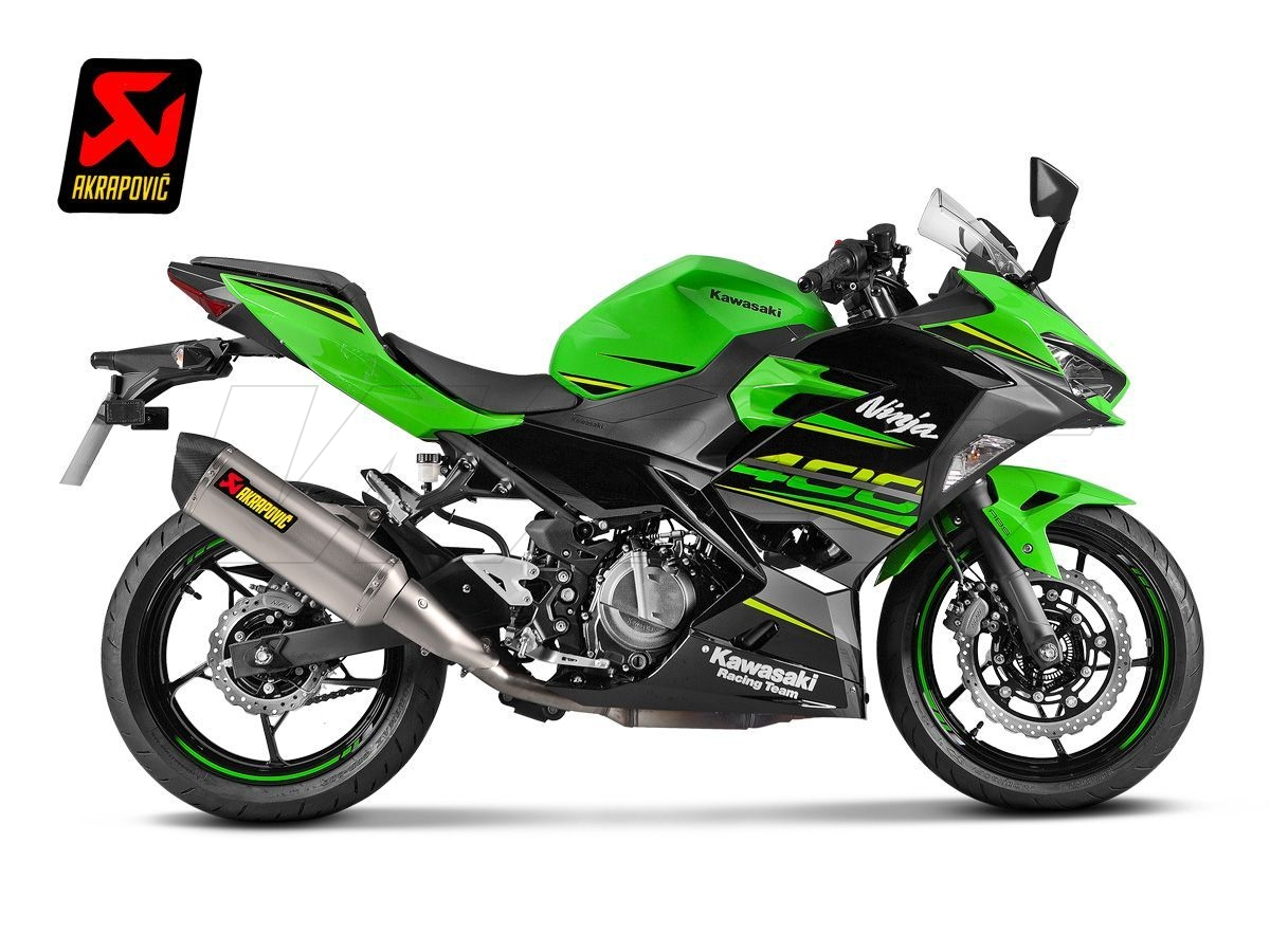s k4so5 hrt exhaust silencer akrapovic titanium kawasaki. Black Bedroom Furniture Sets. Home Design Ideas