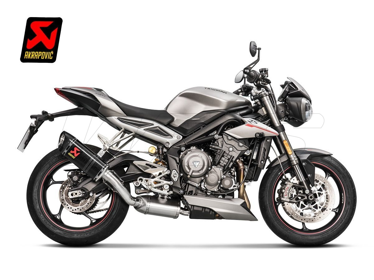 s t7so1 hapc exhaust silencer akrapovic carbon triumph. Black Bedroom Furniture Sets. Home Design Ideas