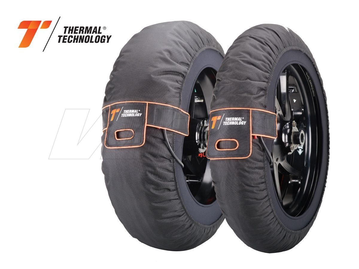 TYRE WARMERS PAIR PRO THERMAL TECHNOLOGY SUPERMOTO SIZE M