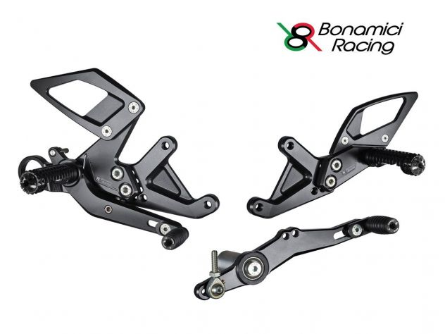ADJUSTABLE REAR SETS KIT BONAMICI...