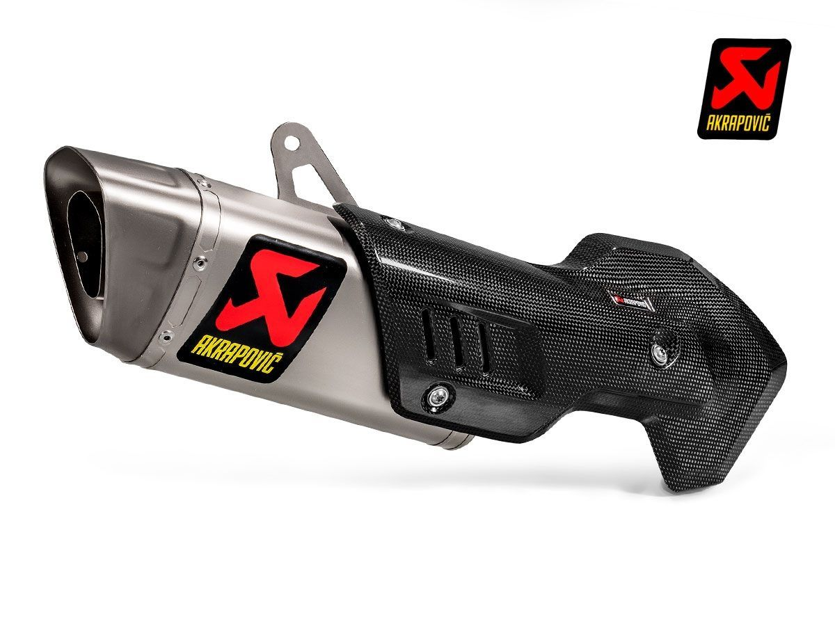 SILENCER SLIP ON AKRAPOVIC TITANIUM DUCATI MULTISTRADA 1260 / S 2018-2019
