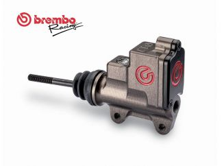 UNIVERSAL REAR BRAKE PUMP BREMBO RACING PS 13 CNC WITH INTEGRATED TANK