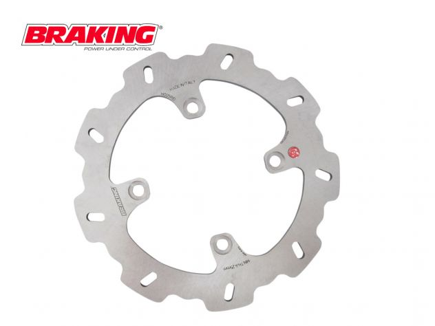 SZ44RID RIGHT BRAKING REAR DISC W-FIX SUZUKI RMZ 250 2007-2017