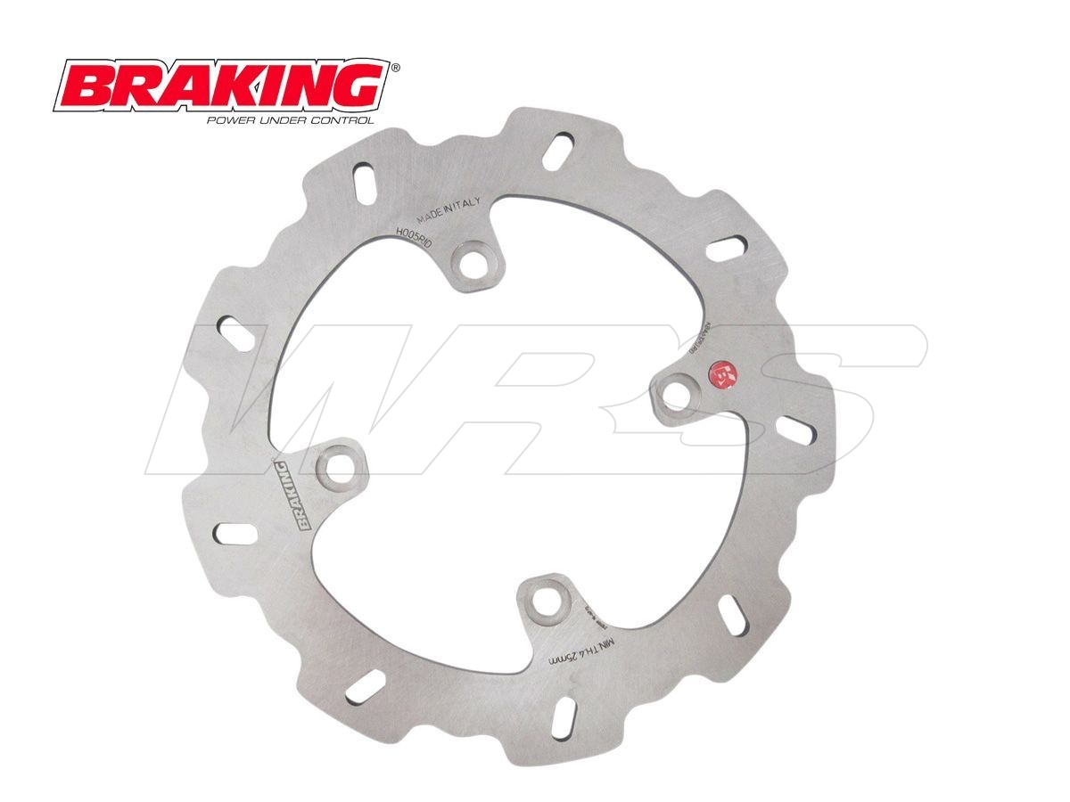 WF4505  DISCO POSTERIORE DX BRAKING W-FIX GAS GAS EC 400 2006-2007