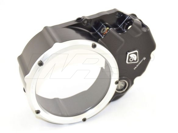 CCDV01 CLEAR CLUTCH COVER OIL BATH DUCABIKE DUCATI MULTISTRADA 1200 2010 14