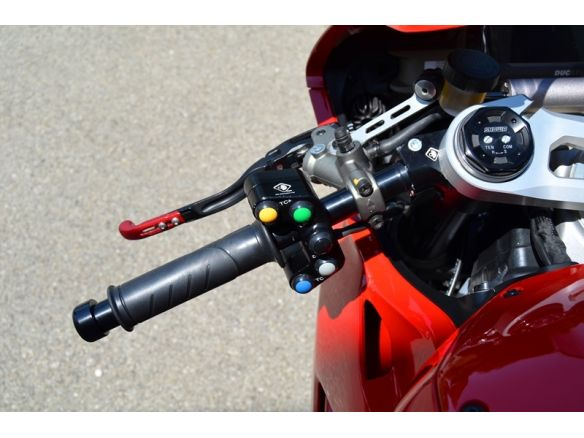 CPPI08  7 BUTTON HANDLEBAR RACE SWITCHED DUCABIKE DUCATI PANIGALE V4
