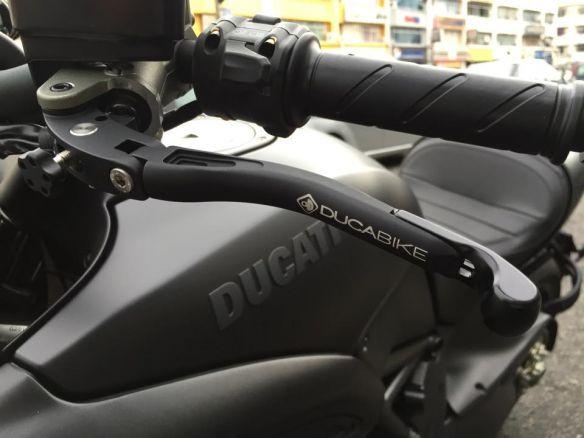 L02  BRAKE + CLUTH ADJ. LEVERS DUCABIKE DUCATI DIAVEL 2016