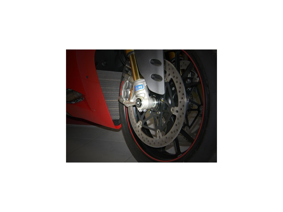 TRD01 RIGHT FRONT WHEEL CAP DUCABIKE DUCATI MONSTER 1200 2014 16