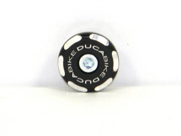 TRD02 RIGHT FRONT WHEEL CAP BICOLOR DUCABIKE DUCATI MONSTER 696 / 796 / 1100 EVO