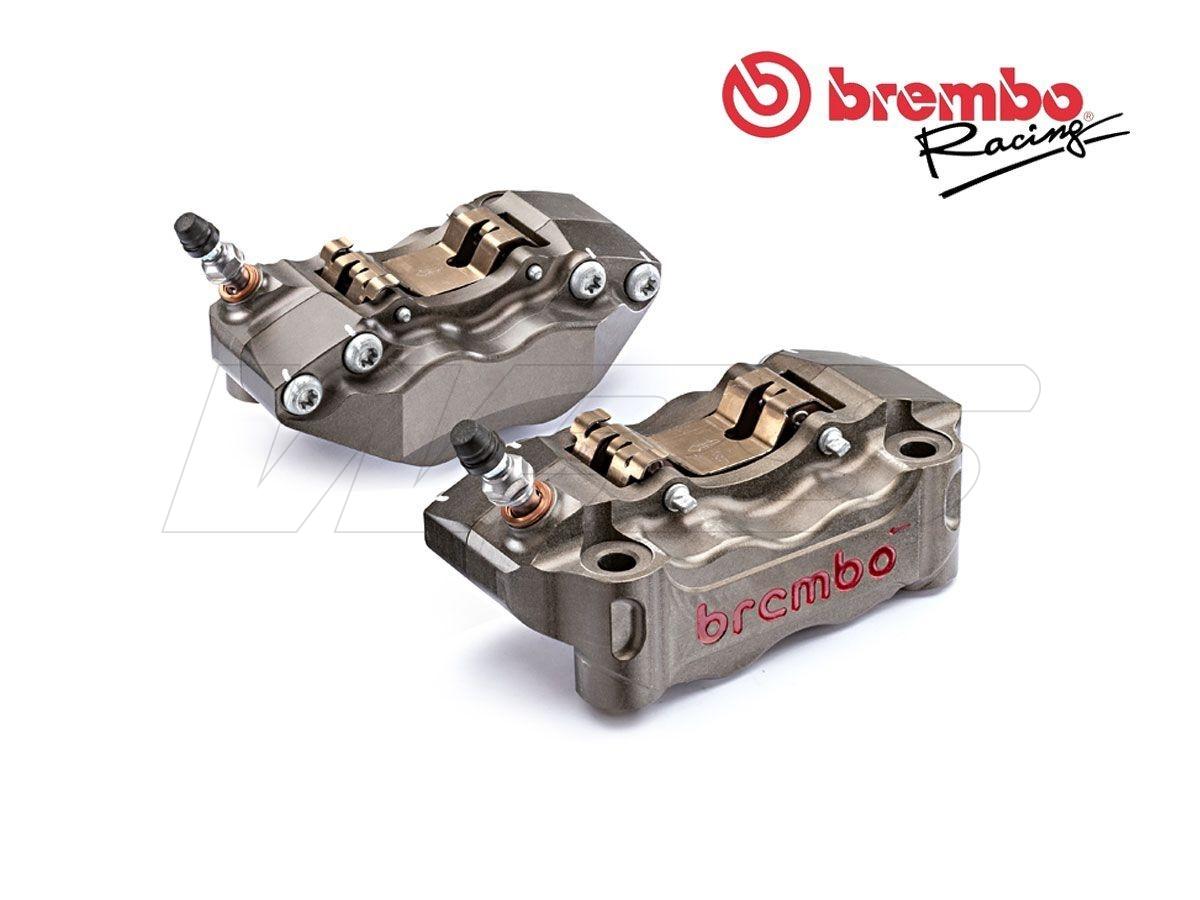 COPPIA PINZE FRENO RADIALI BREMBO CNC P4 30-34 100MM