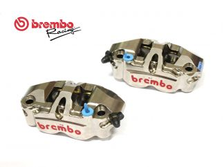 PAIR PINZE FRENO ANTERIORI RADIALI MONOBLOCK BREMBO 108MM USED