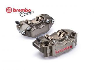 PAIR BRAKE RADIAL CALIPERS CNC BREMBO RACING P4 30/34 108MM