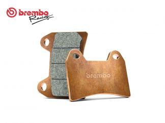 BREMBO REAR BRAKE PADS SET YAMAHA XT X SUPERMOTARD 125 2005 +