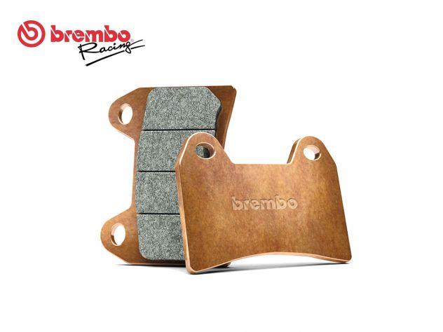 SET BREMSBELÄGE HINTEN BREMBO BOMBARDIER-CAN AM TRAXTER 4X4 500 1999-2000