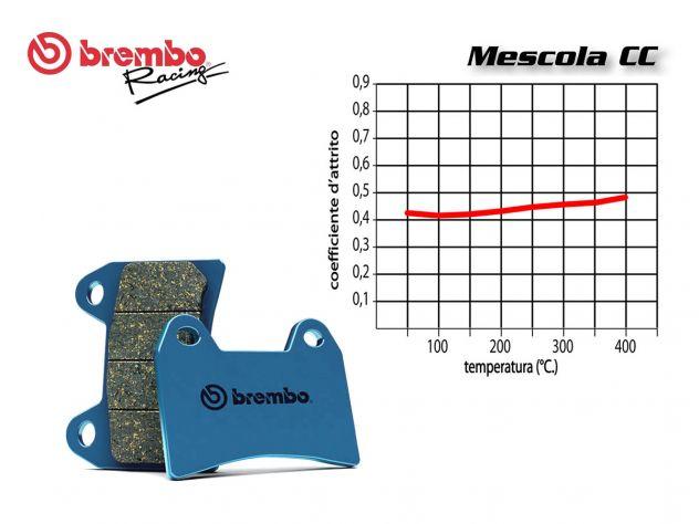 BREMBO FRONT BRAKE PADS SET ATALA BYTE 50 1997-2000