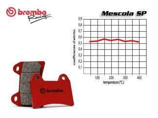 BREMBO REAR BRAKE PADS SET CAGIVA MITO 525 125 2008 +