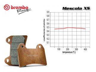 BREMBO REAR BRAKE PADS SET YAMAHA X MAX 400 2013 +