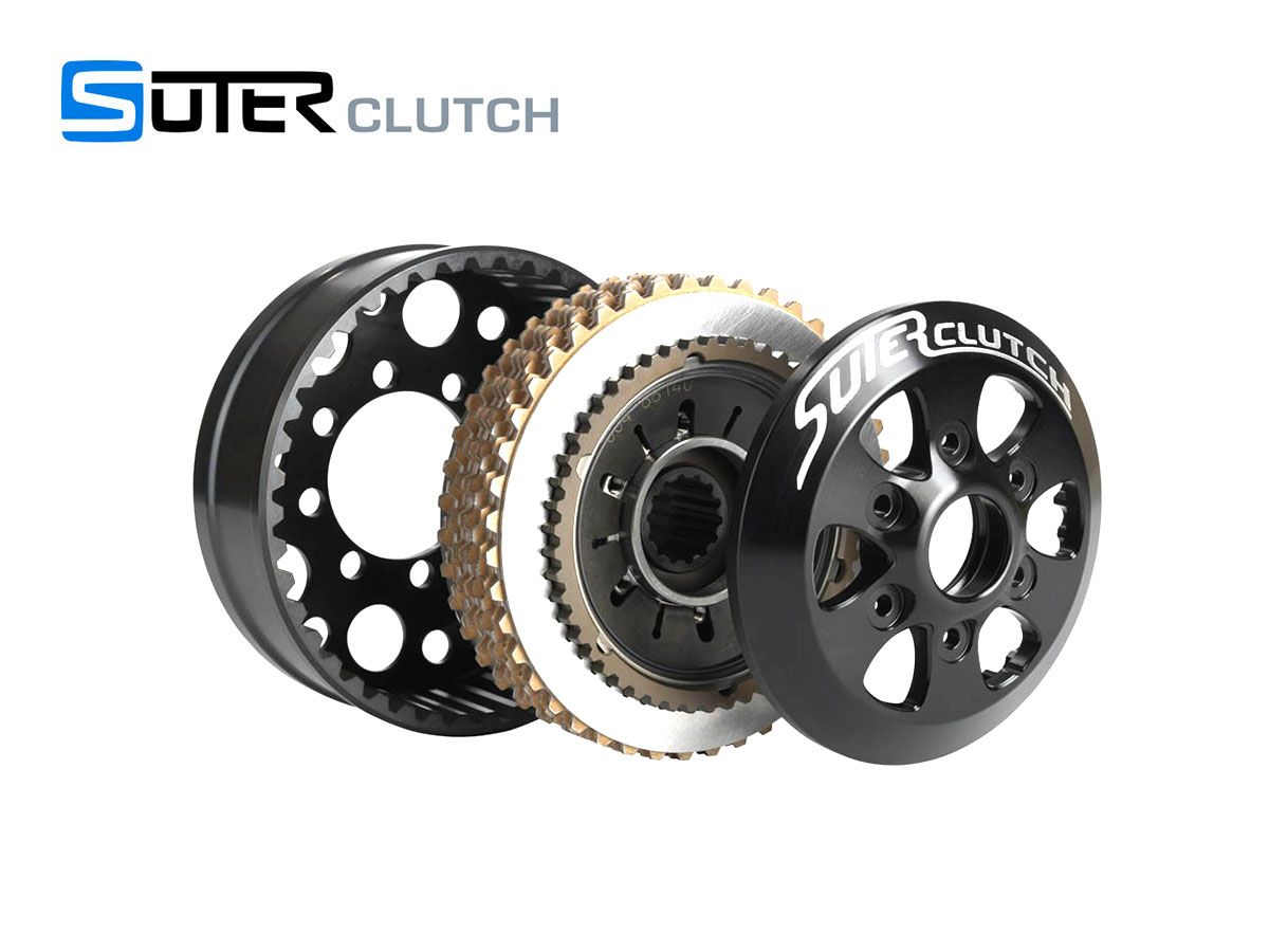 SUTER RACING SLIPPER DRY CLUTCH DUCATI MONSTER 1000 / S / CROMO / DARK