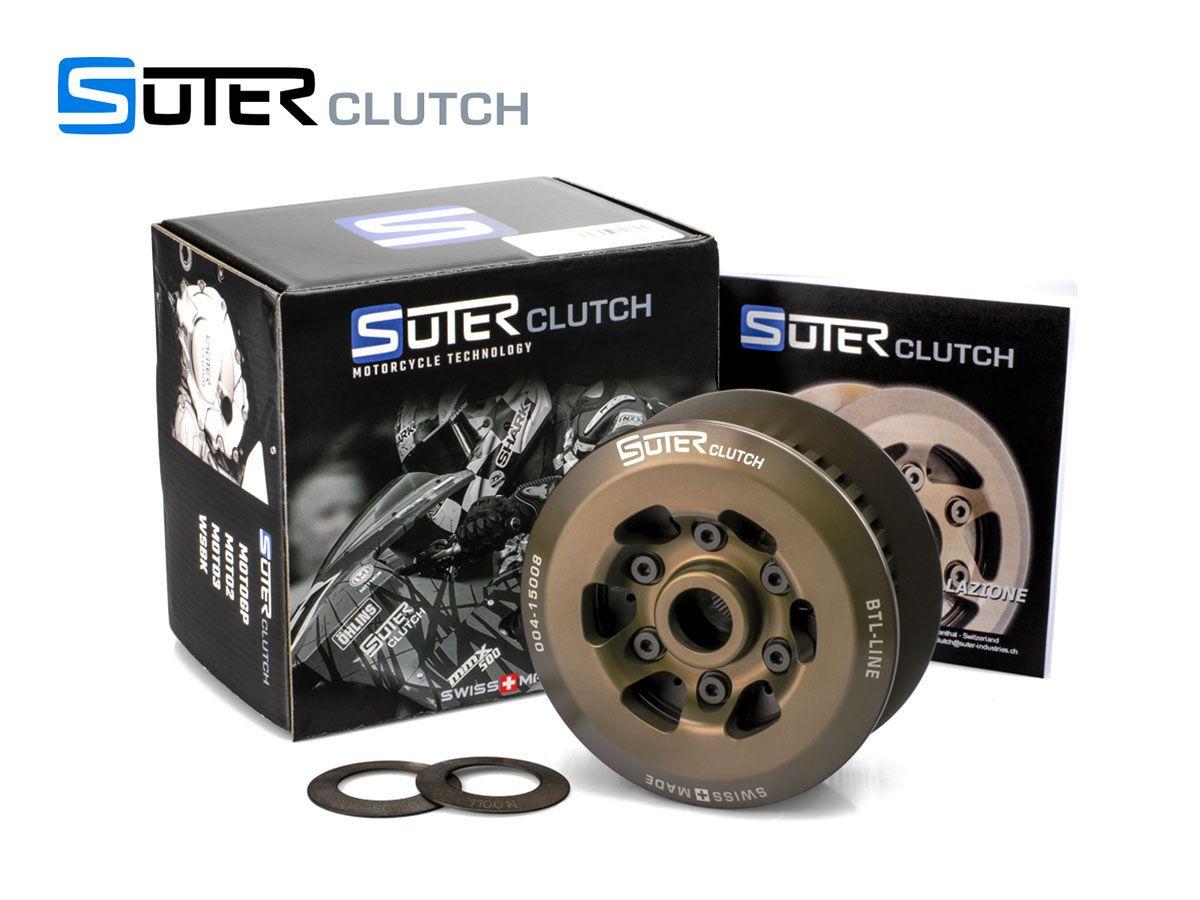 SUTER SLIPPER CLUTCH STEEL INSERTS + START KTM MOTO3 GP 2012-2013