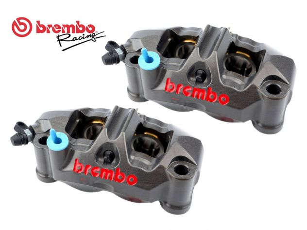 COPPIA PINZE FRENO RADIALI BREMBO RACING GP4-RR 108MM P4 32/36