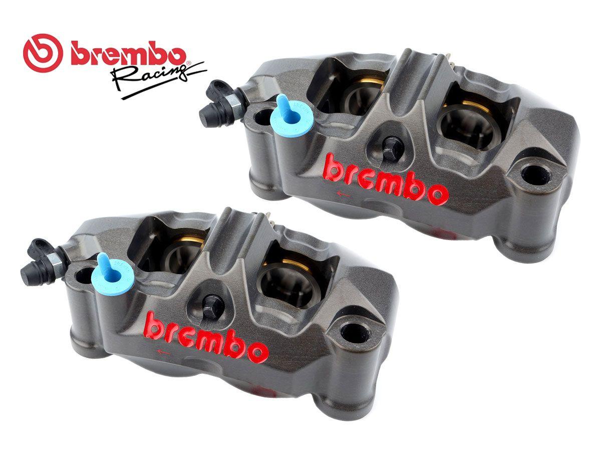 PAIR BRAKE RADIAL CALIPERS BREMBO RACING GP4-RR 108MM P4 32/36