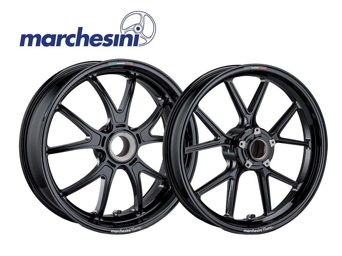 FORGED ALUMINUM RIMS MARCHESINI M10RS KOMPE DUCATI HYPERMOTARD 821 SP AFTER 2013
