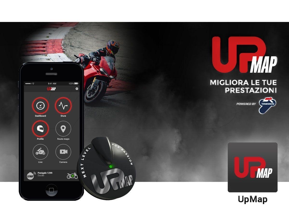 UNIDAD DE CONTROL ELECTRONICO TERMIGNONI UPMAP T800 YAMAHA T-MAX 530 2012-2016